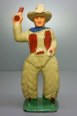 """Manoil Western """"COWBOY"""" Lead Toy Soldier Figure VGC No Breaks Free S+H Barclay"""