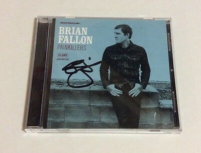 BRIAN FALLON - PAINKILLERS CD *SIGNED* Autographed Gaslight Anthem