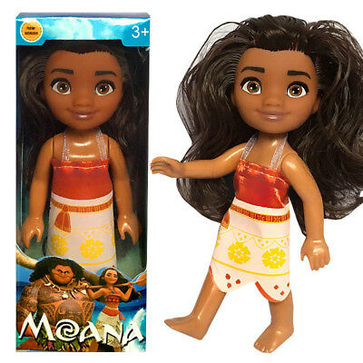 Disney Moana Adventure Doll Mini Princess Doll Christmas Gift for kids - 6.3inch
