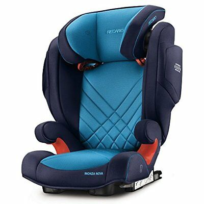 RECARO Monza Nova 2 Seatfix Child Car Seat in Xenon Blue 6151.21504.66