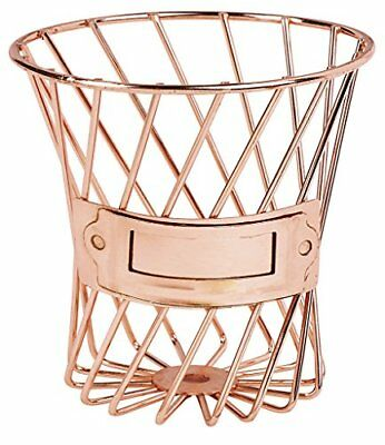 Moses. 80801Metal BasketRose Gold