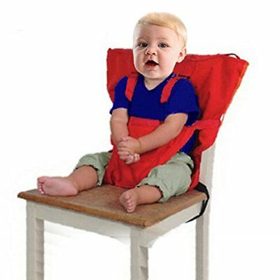 GudeHome Baby Portable High Chair Safety Harness Toddler Foldable Safety Sack Be
