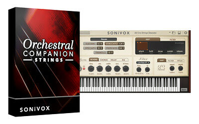 Orchestral Companion - Strings (plugin VST, AU, AAX, RTAS)