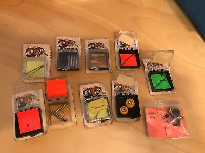 Vintage Riggen HO Scale Slot Car Assorted Parts ....