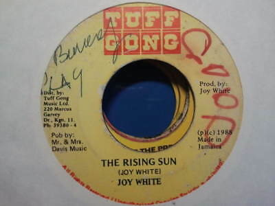 "Tuff Gong 88' Rare Og Ja ""the Rising Sun"" Joy White (Float A Come Riddim) Listen"