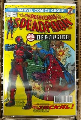 The Despicable Deadpool #287 3D Lenticular Variant Cover Marvel Legacy 10/11/17