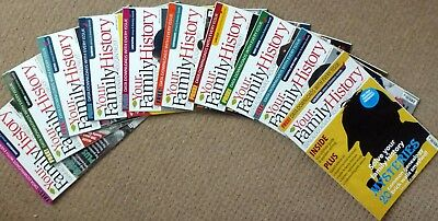 10 x 2017 COPIES of FAMILY HISTORY LOCAL MAGAZINES GENEALOGY YOUR FAMILY TREE