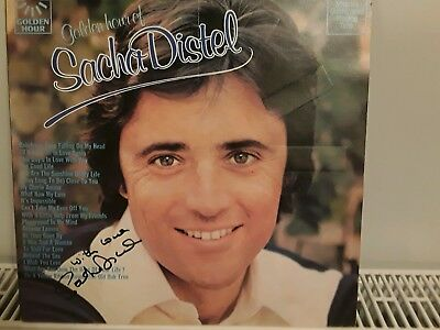 Sacha distel signed album