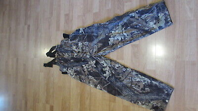 Men Cabela's Dry Plus Camouflage Bib Overalls Xl Reg Insulated !!!