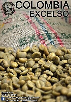 Green Coffee Beans - COLOMBIA EXCELSO - 1kg