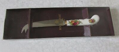 Royal Albert Old Country Roses Cheese Knife Boxed - Lovely