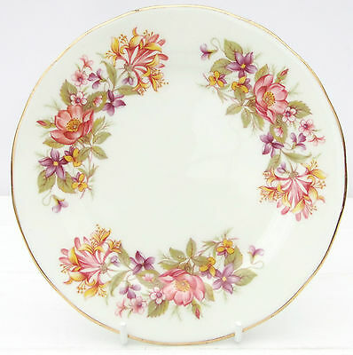 Vintage Colclough Wayside Bone China Floral Tea Plate