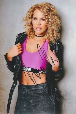 CHANELLE 1 DSDS Foto 20x30 Autogramm IN PERSON signiert signed Autograph