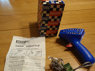 Vintage Scalextric Hand Throttle A265 controller