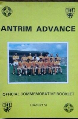 Antrim Gaa Official Commemorative Booklet For All Ireland Final