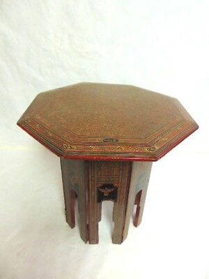 Vintage Antique Hand Painted Chinese Tibetan Table