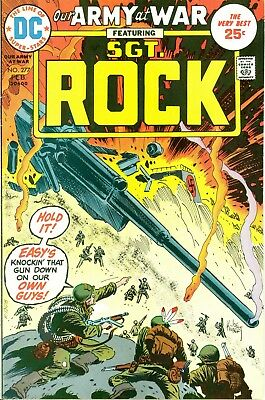Our Army at War #277. Feb 1975. DC. Starring Sgt. Rock. FN.