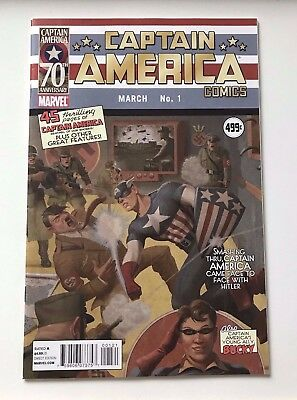 Marvel Comics Captain America #1  Reprint 70 Anniversary Edition Variant 2011!!!