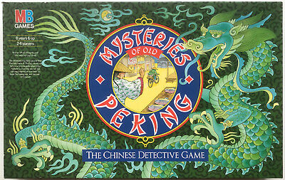 Mysteries of Old Peking The Chinese Detective Game 1987 MB Games