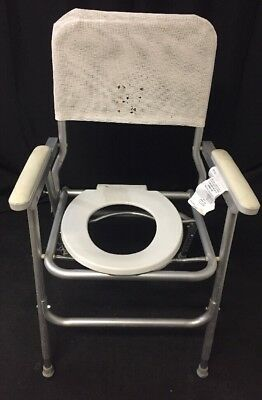 WINCO Field Commode Portable Folding Chair #120 White See Listing