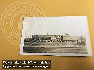 RAILROAD PHOTO CANADIAN PACIFIC STEAM 4-8-4  # 3100 N-1-a TORONTO , ONT 1939