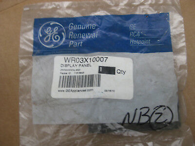 NEW OLD STOCK GE General Electric WR03x10007 DISPLAY PANEL
