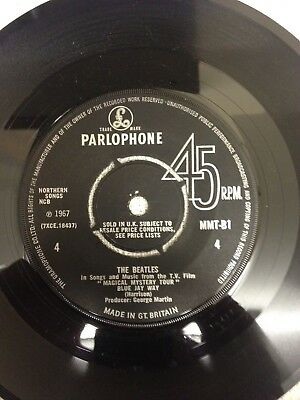 The Beatles - Magical Mystery Tour PARLOPHONE (EP) No Cover MMT-B1