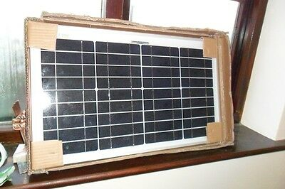 NEW 20W 12v Energy+ Solar Panel Battery Charger - Poly crystalline - TUV ISO UK