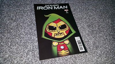 INFAMOUS IRON MAN #1 of 12 YOUNG VARIANT (2016) MARVEL.SERIES