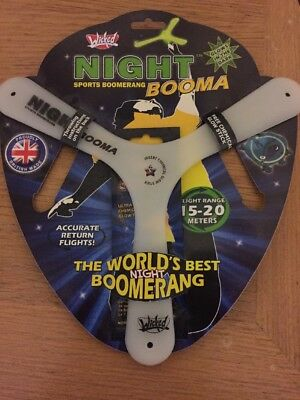 Night Booma Sports Boomerang New Unused