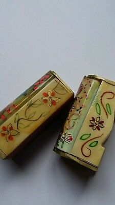 Pair of Collectable little trinket boxes.