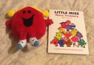 Little Miss Story Treasury, Large Hdbk, Little Miss Chatterbox Cuddly Toy