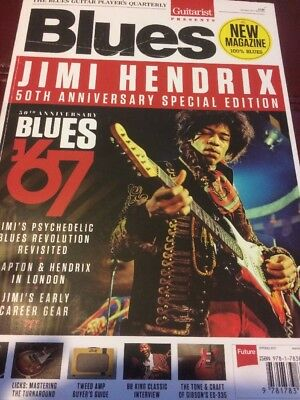 The Blues Guitar Players Quarterly, Jimi Hendrix