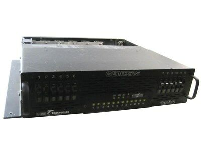 Teatronics Genesis 1224 Dimmer Comstar 120 VAC 20A-channel Max 2.4 Kw 50-60 Hz