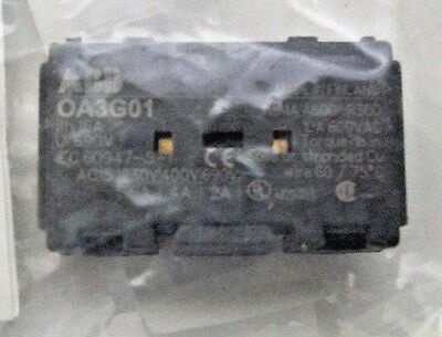 ABB OA3G01 16 Amp 690 Volt Rated Auxiliary Contact (1SCA022456R7410)