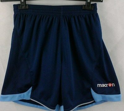 Men's Macron blue and Navy football shorts size Small