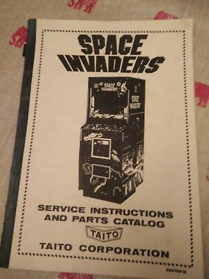 Space Invaders - Arcade machine service instructions and parts catalog
