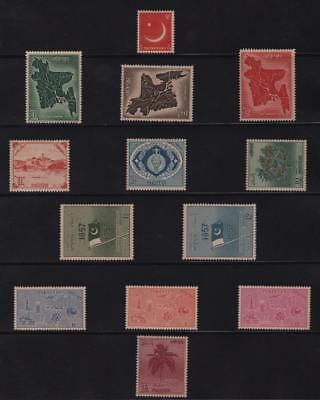 PAKISTAN: Mounted Mint Examples - Ex-Old Time Collection - Album Page (11303)