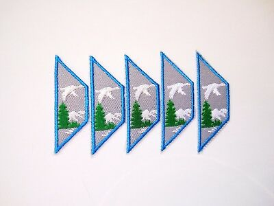 Lot of 5 ADVENTURE CHALLENGE Set Badge Patch Crest Girl Guides Canada GGC Scout