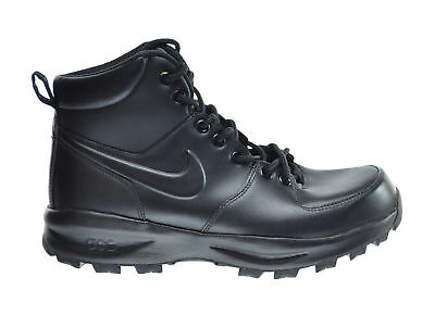 Nike Manoa Leather Men's Boots Black Outdoor Winter Lace Up 454350-003