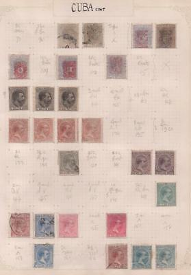 SOUTH AMERICA: Used/Unused Examples - Ex-Old Time Collection: Album Page (11379)