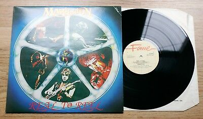 MARILLION Real To Reel LP EX++/NM early UK reissue 1984 A2U/B1U Fame FA413142