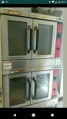Vulcan VC44ED Double Deck Convection Oven, Electric 208/60/3