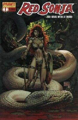 Red Sonja She-Devil With A Sword #1 Cover F Dynamite Entertainment