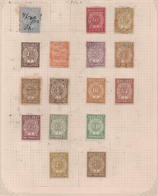 TRANSVAAL: Revenue Examples - Ex-Old Time Collection - Album Page (11586)