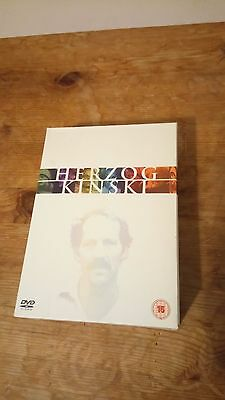 Werner Herzog & Kinski, DVD box set
