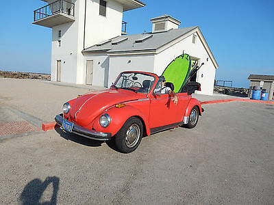 1979 Volkswagen Beetle - Classic  1979 VW Super Beetle Convertible Original NOT Restored We owned it for 35 years!