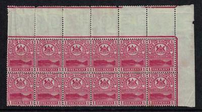 Cape of Good Hope stamps, mint corner block of 12 SG69