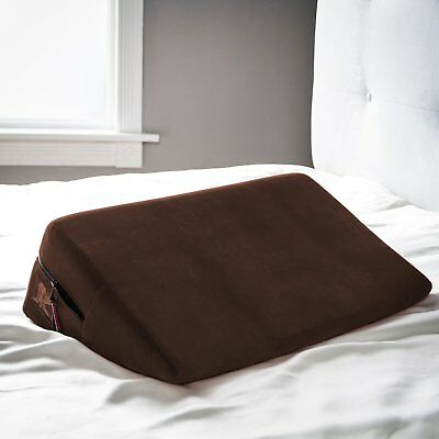Liberator Wedge Intimate Positioning Pillow - Chocolate Microfiber