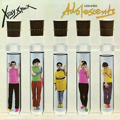 X-Ray Spex~Germ Free Adolescents~ 2017 Limited Ed (1000) ~ Clear/blue Splatter